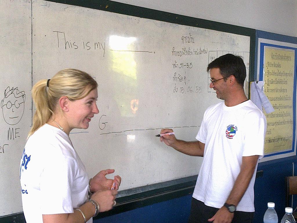 Teaching practice in thailand